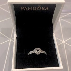 Knotted Pandora Promise Ring